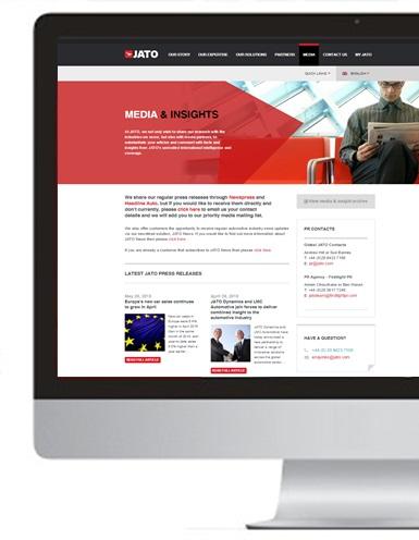 JATO.comにメディア&インサイトページを開設