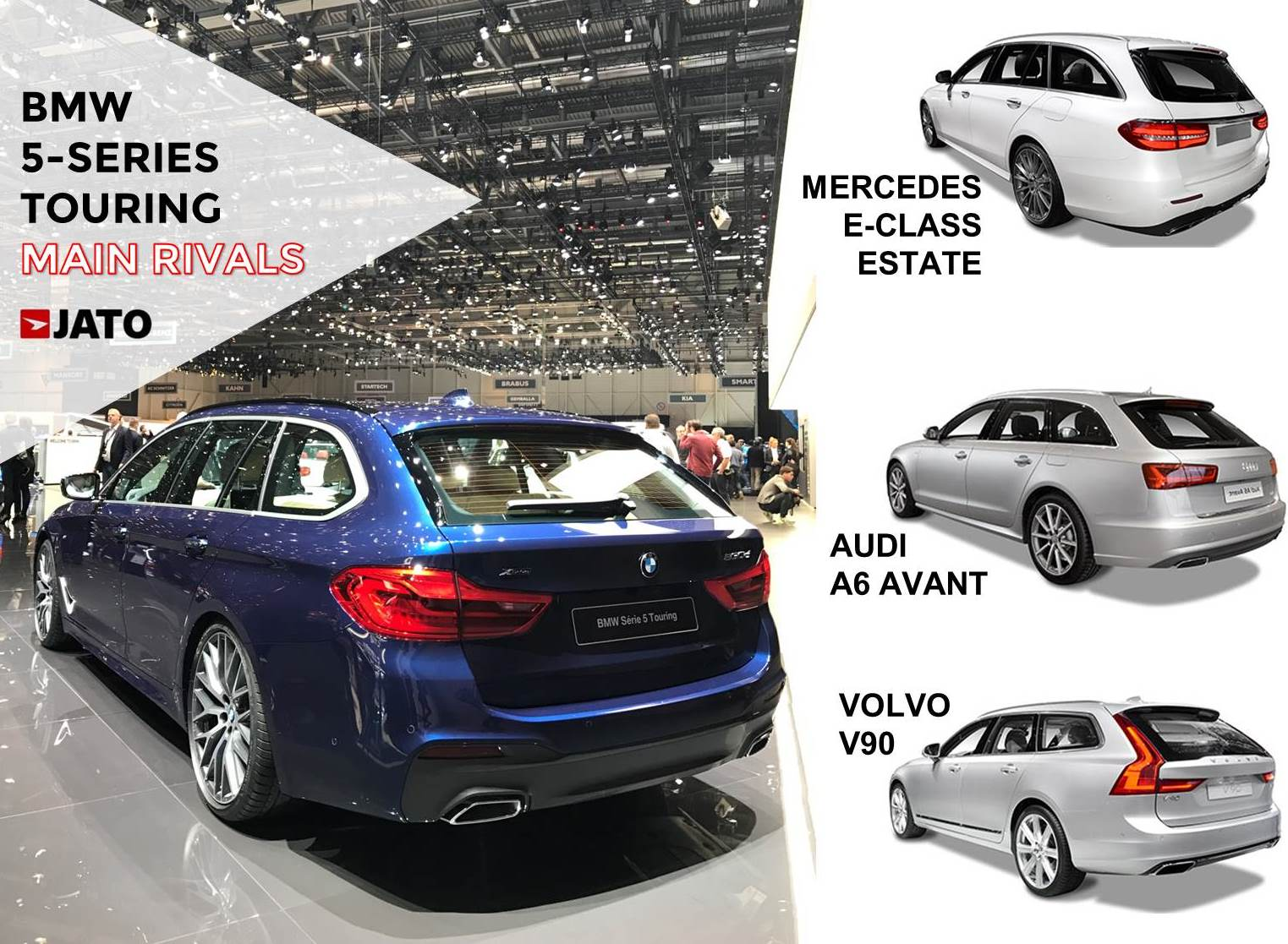 With the new generation, the 5-Series Sedan and SW will recover its leadership in Europe's premium executive segment.