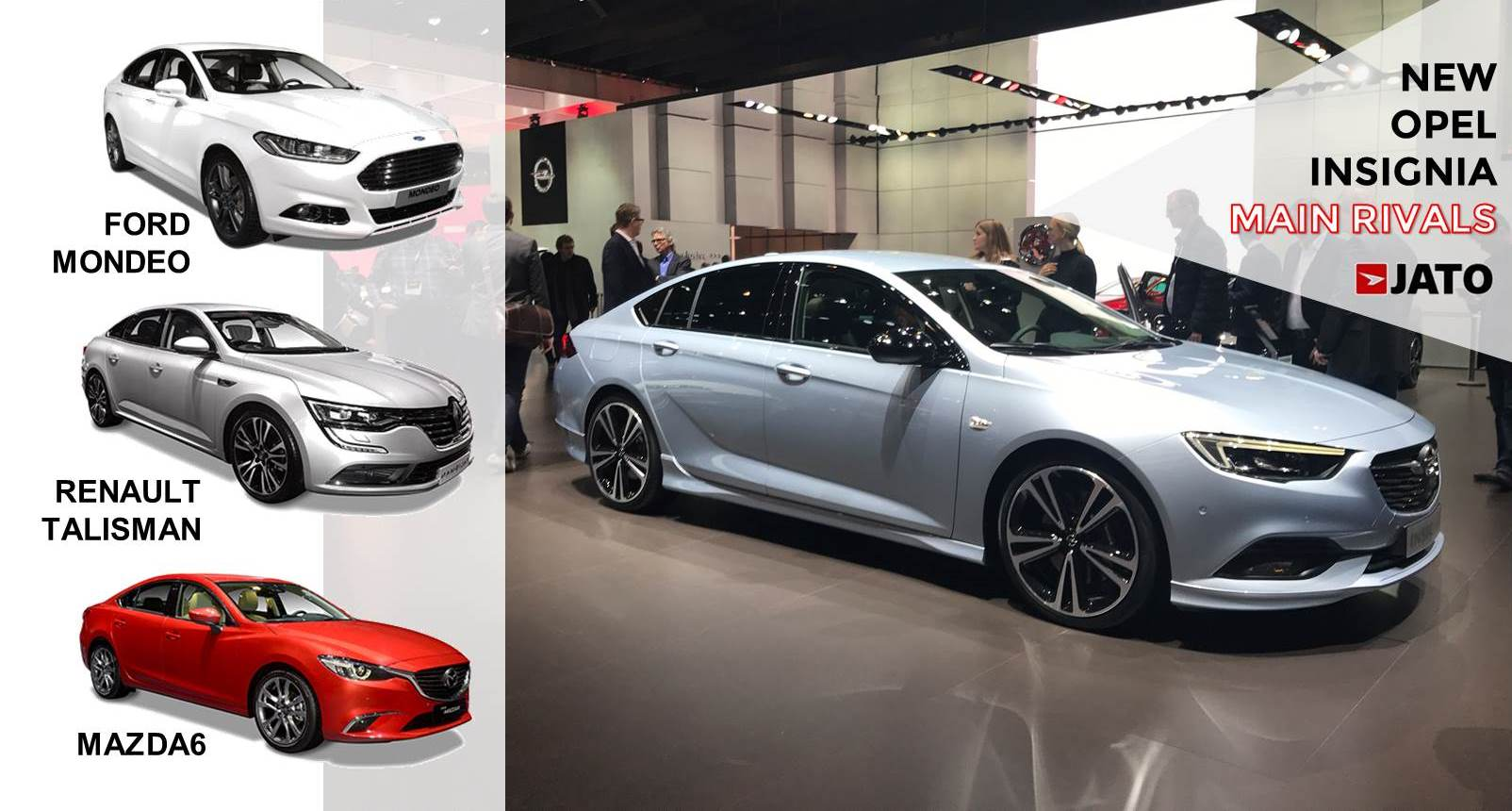 The new Opel Insignia looks sporty and more agressive. With the mainstream midsize sedans/SW demand falling, the brand aims to position the Insignia as a Sporty-Family car. It will remain as the second best-selling mainstream midsize car in Europe, behind the VW Passat.