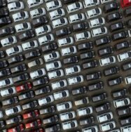 Car Manufacturer - aerial shot of cars