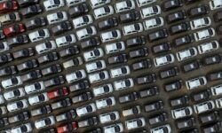 Car Manufacturer - aerial shot of cars