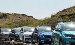VW SUVs