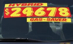 Hybrid car - gas saver