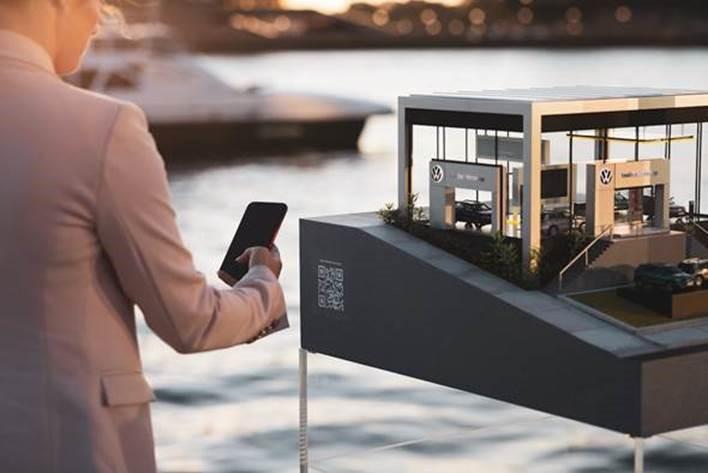Una de las concesionarias más pequeñas del mundo, en Sidney, Australia.